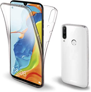 Moozy Funda 360 Grados para Huawei P30 Lite Transparente Silicona ...