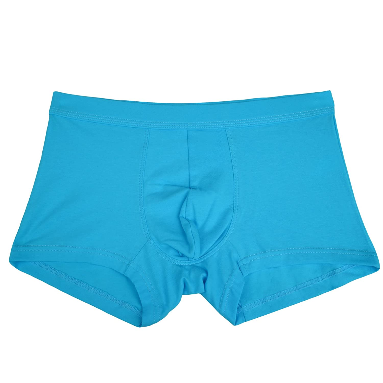 Yulee Mens Breathable Cotton Boxer Briefs Assorted Underwear 4 Pack