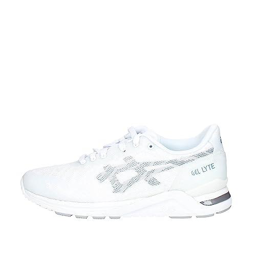 zapatillas blancas asics hombre