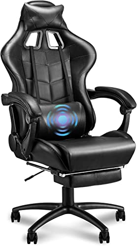 Soontrans Massage Black Gaming Chair