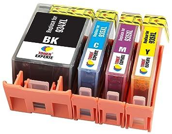 TONER EXPERTE® 4 XL Cartuchos de Tinta compatibles con HP 934 ...
