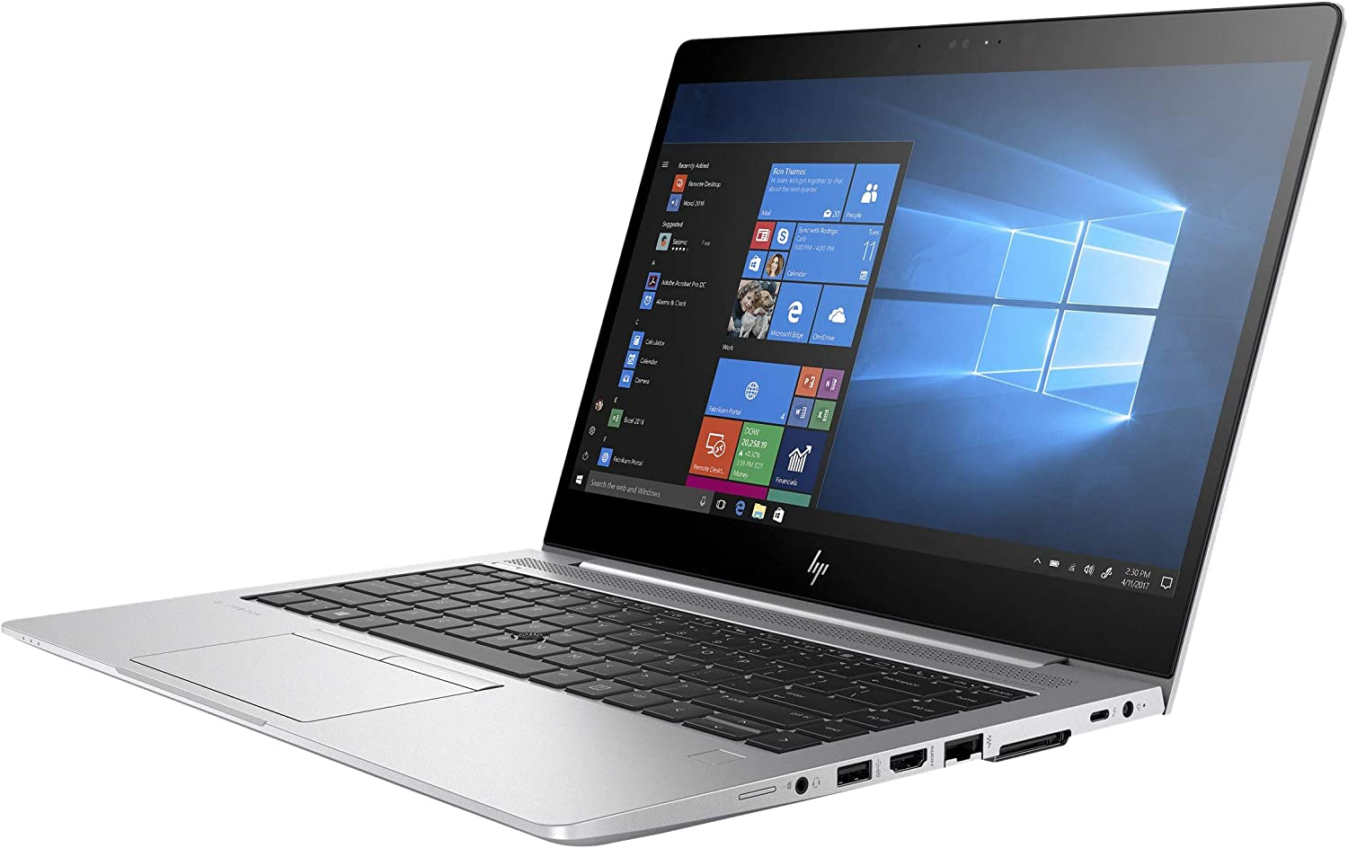 "HP 3RF07UT#ABA Elitebook 840 G5 14"" Notebook - Windows - Intel Core i5 1.6 GHz - 8 GB RAM - 256 GB SSD, Silver, 14-14.99 inches"