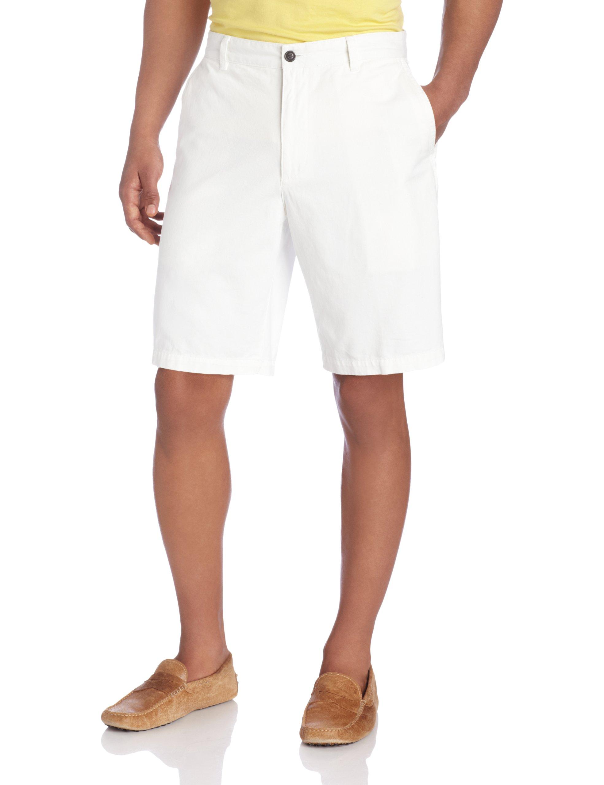 Dockers Men's Classic Fit Perfect Short D3, White Cap (Cotton), 34W