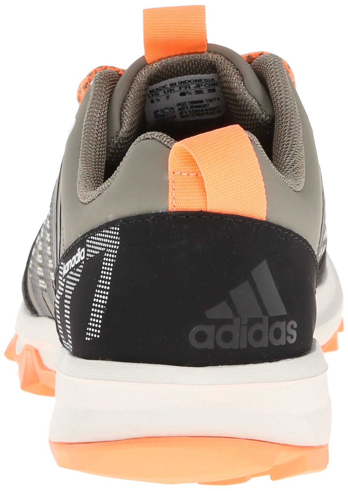 adidas Performance Women's Kanadia 7 TR W Trail Running Shoe, Clay/Chalk/Flash Orange, 7 M US by adidas (Image #2)