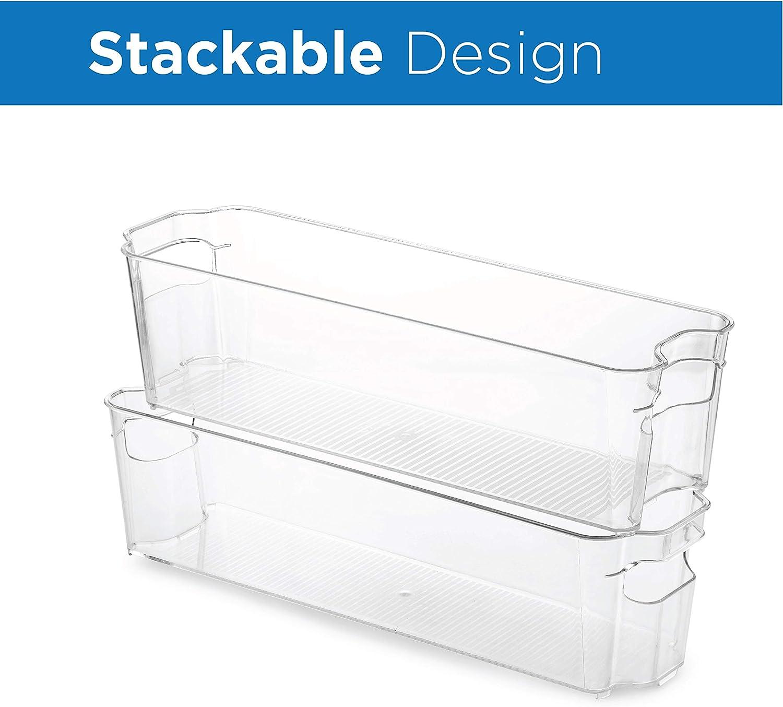 Amazon.com: Juego de 8 cubos organizadores para frigorífico ...