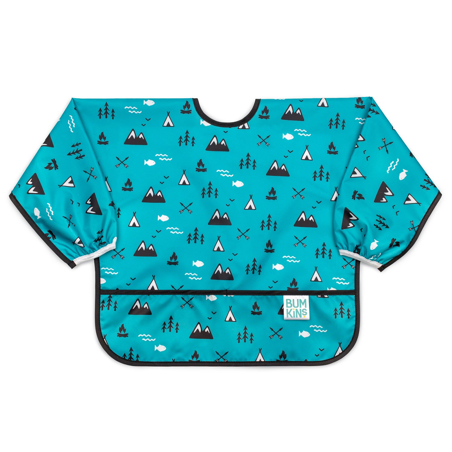 Bumkins Waterproof Sleeved Bib, Outdoors, 6-24 Months SU-24