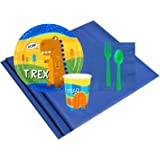 T-Rex Dinosaur Party Supplies - Party Pack 16