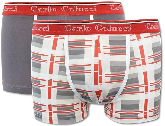 Carlo Colucci - Bóxers ajustados - para hombre: Amazon.es: Ropa y accesorios