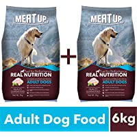 Meat Up Adult Dog Food, 3 kg
