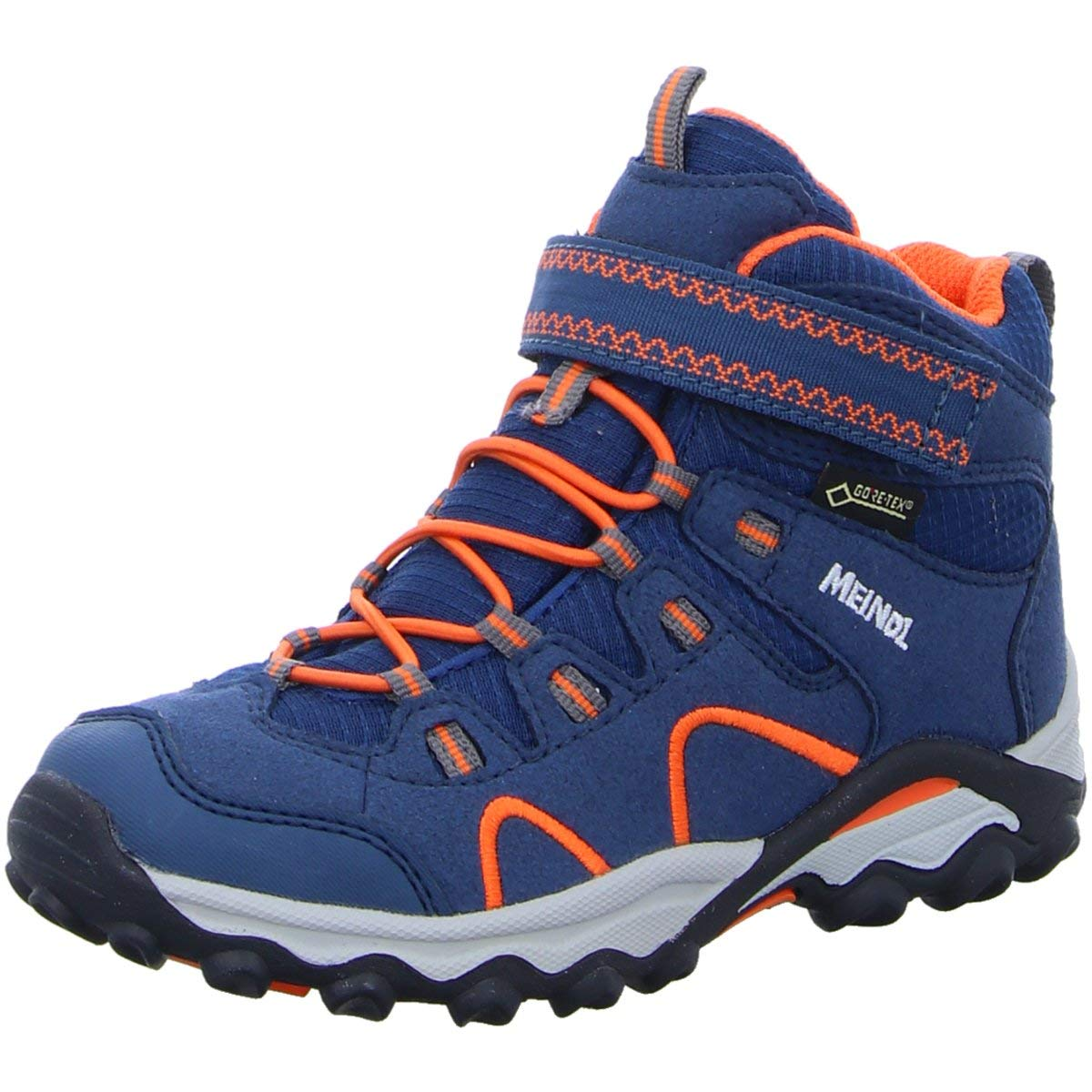Meindl Kinder Bergschuhe Lucca Junior Mid GTX 2106 049 blau 464718