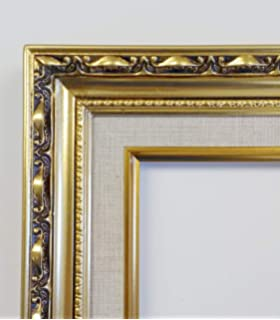 amazon com rabbetworks ornate gold oval picture frame 11x14