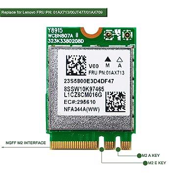 Amazon.com: NGFF M2 WiFi Module WiFi Card WiFi Adapter ...