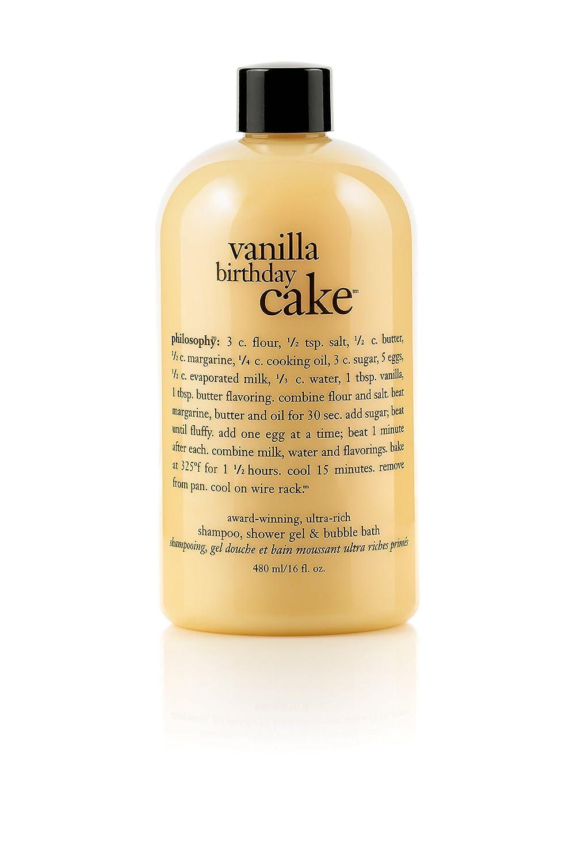 Brilliant Bath Body By Philosophy Vanilla Birthday Cake Shampoo Shower Funny Birthday Cards Online Ioscodamsfinfo