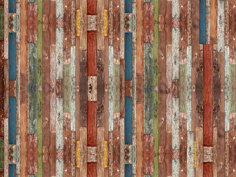 VINILIKO Industrial Wood Alfombra de Vinilo 200x266