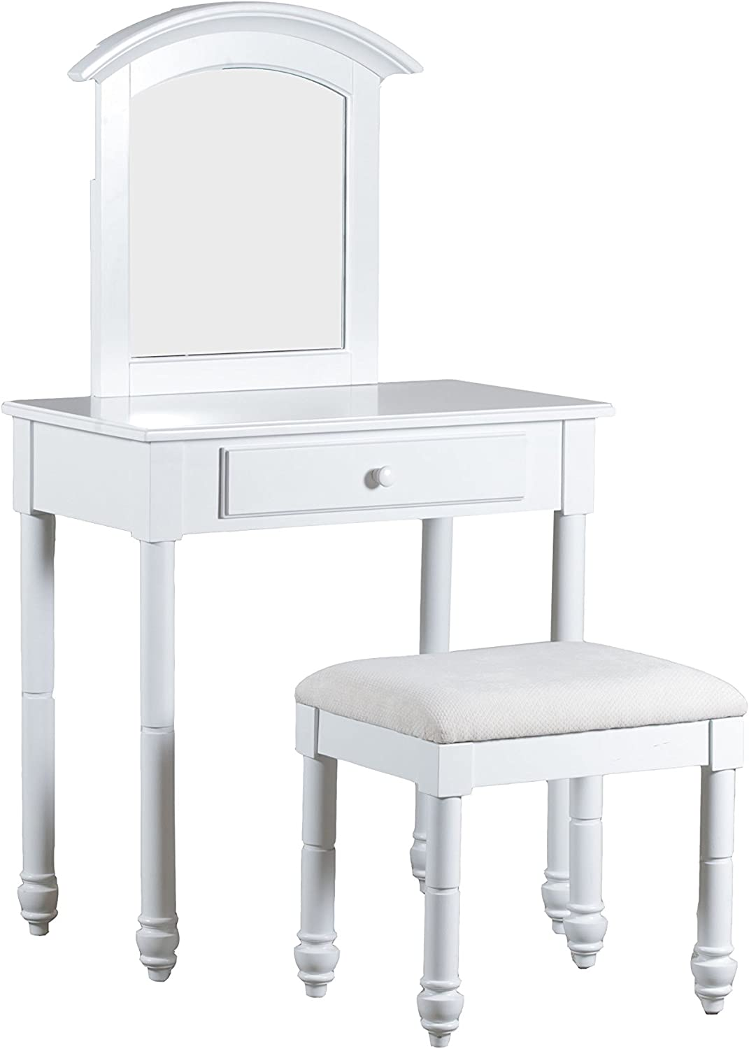 Powell Furniture Whitehurst Vanity, White