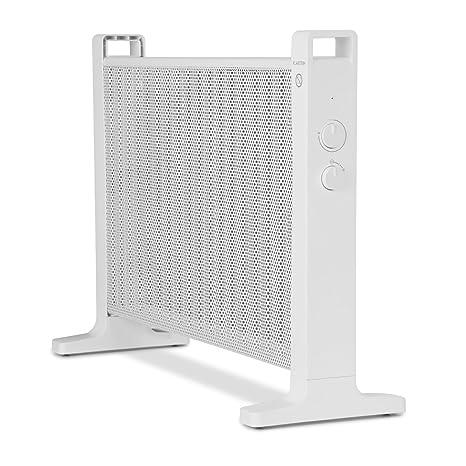 Klarstein HeatPalMica20 Calefacción eléctrica - Estufa , Mica , Calor rápido , 2000 W , 2 Niveles de Calor , Montaje en Pared , Baño , Silencioso , ...