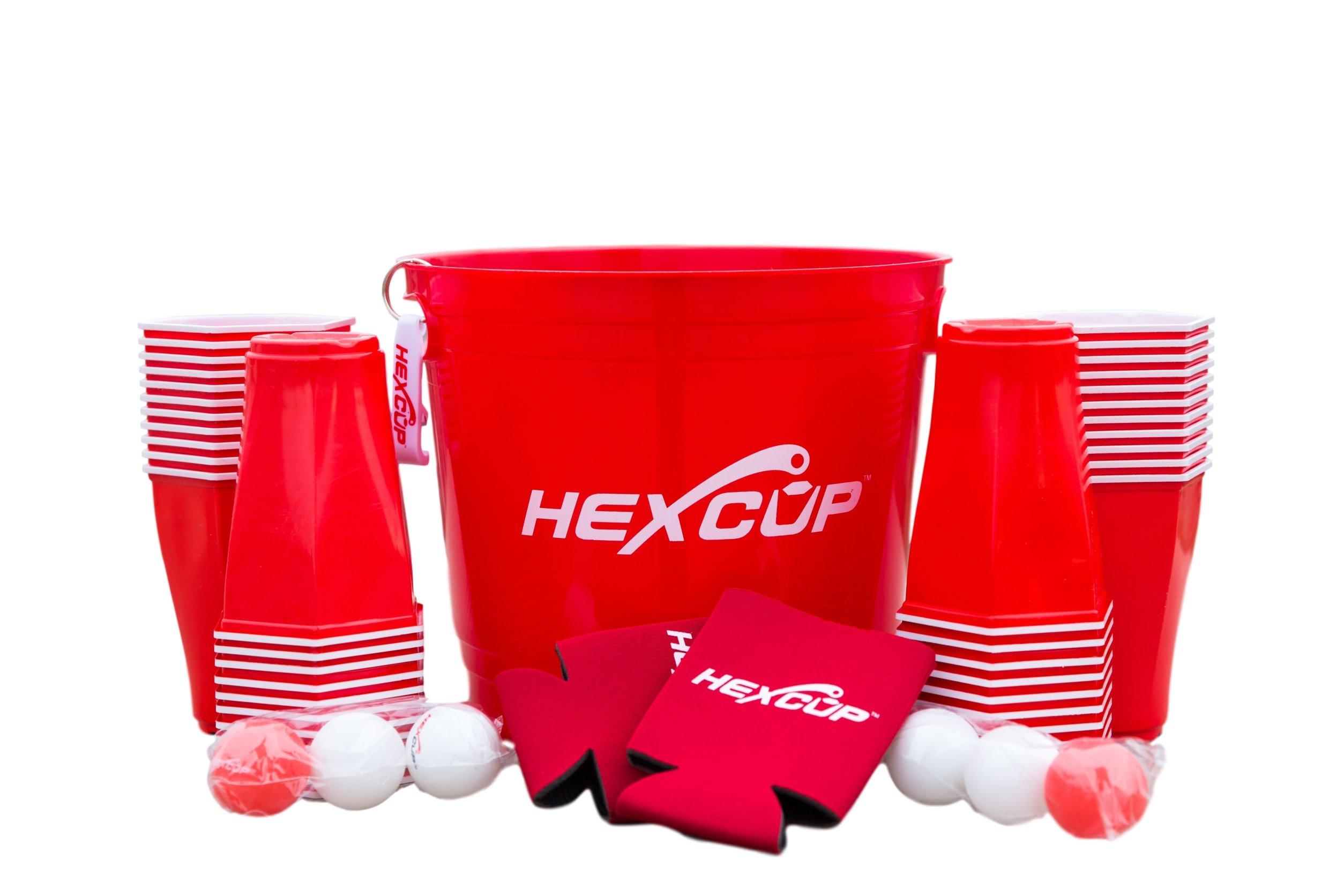 Hexcup Beer Pong Bucket Kit