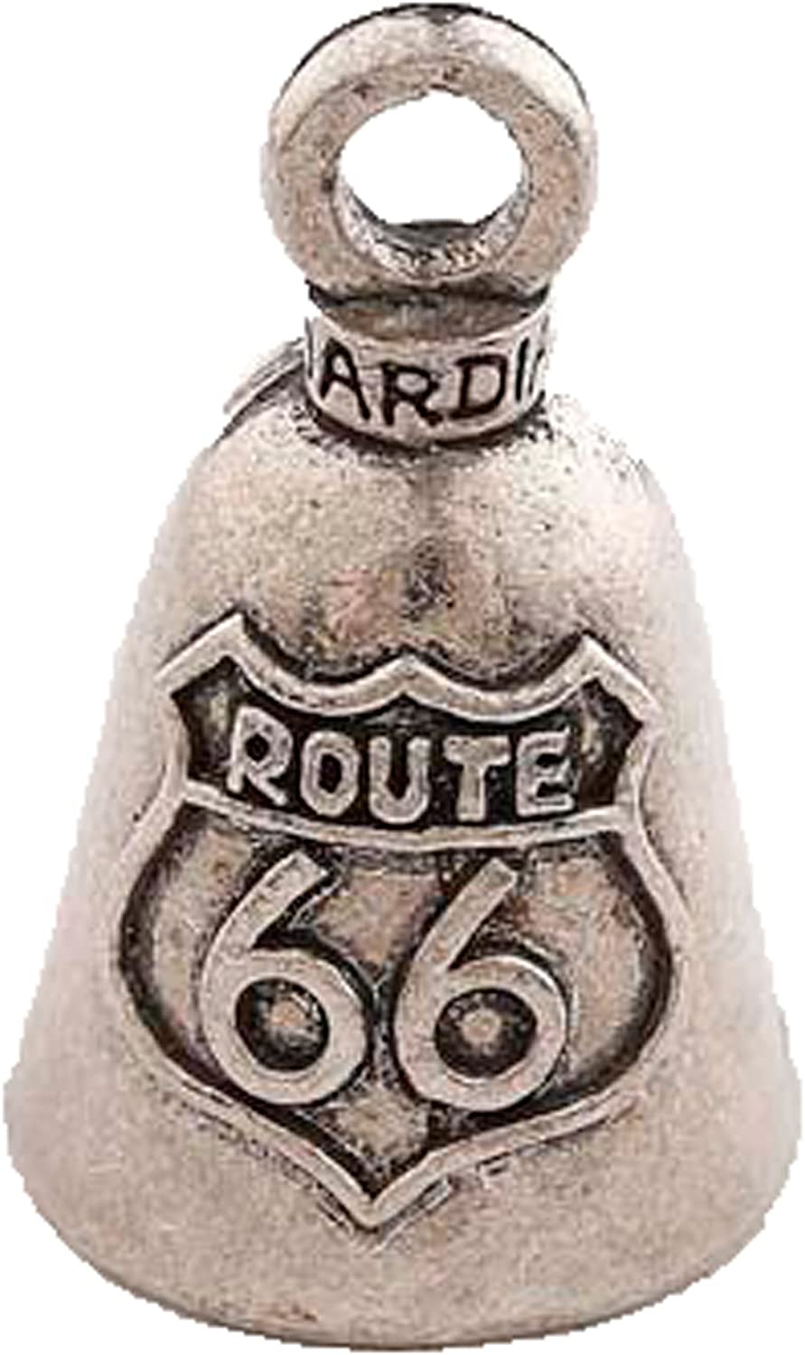 Route 66 Guardian Motorcycle Spirit Bell Gremlin Key Ring Accessory Gift