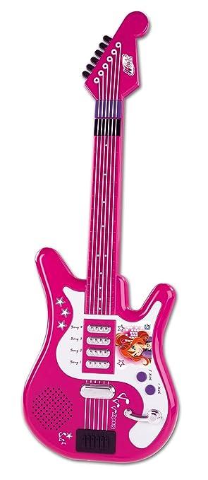 Smoby 27282 - Guitarra eléctrica de juguete, diseño de Winx