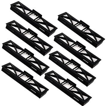 LOVE(TM)8 paquetes de filtro para Neato Robotics Botvac D Serie Ultra D75 Filtro Rendimiento, D80, D85 Todo Botvac Aspirador series Filtrado: Amazon.es: ...