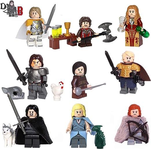 Lego Elf Game of Thrones Minifigures