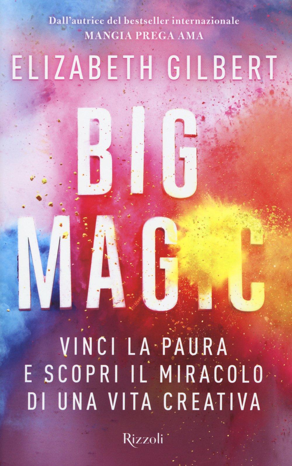 Copertina Libro Big Magic
