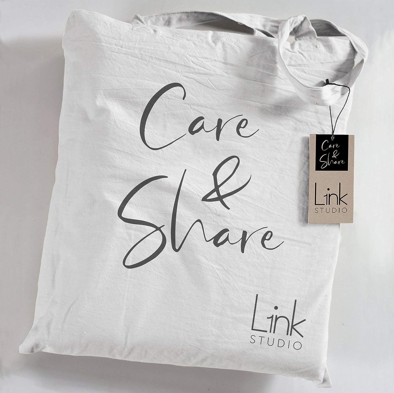 L1NK STUDIO Funda Almohada Cama de 135 cm 45X155cm Percal 200 Hilos Escarlata 100/% algod/ón