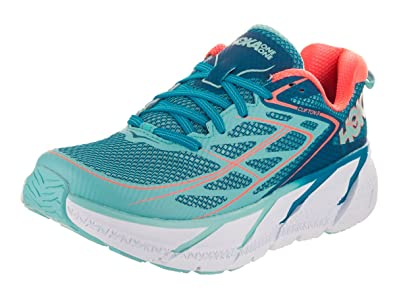 Hoka One One W Clifton 3 Blue Jewel Neon Coral 36.5 g43nL