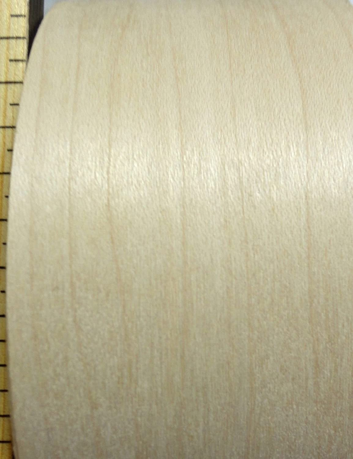 Maple wood veneer edgebanding roll 4 x 120 with preglued hot melt adhesive JSO Wood Products