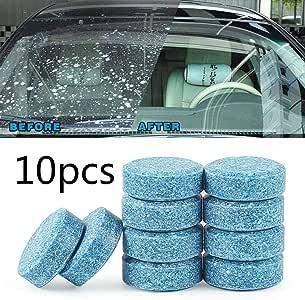Limpiador de ventanas de coche, 10 unidades, limpiaparabrisas: Amazon.es: Hogar
