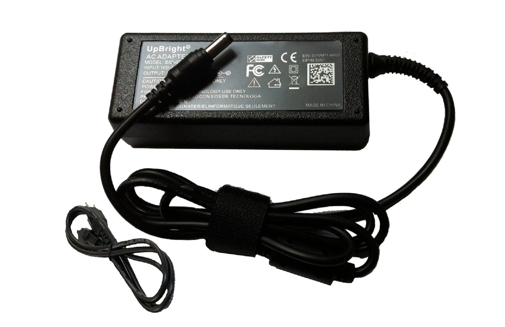 UpBright 12V 3.33A 40W AC/DC Adapter For Dell S2340 S2340M S2340Mc 23'' LED LCD HD TV Monitor Delta ADP-40DD B U1000EA 631639-001 631914-001 CWT KPA-040F DVR CRAIG CLC504E CLC501 FSP FSP040-DGAA1