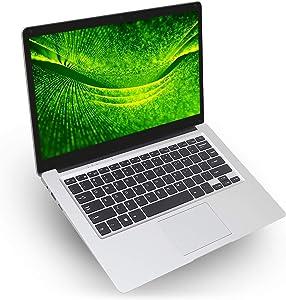 "2019 14"" Thin and Light Laptop Intel Atom X5-E8000 Quad core, 1.04Ghz CPU, up to 2.0Ghz, 4GB RAM, 64GB eMMC, Expandable 1TB HDD, WiFi, Mini HDMI Windows 10 Home"