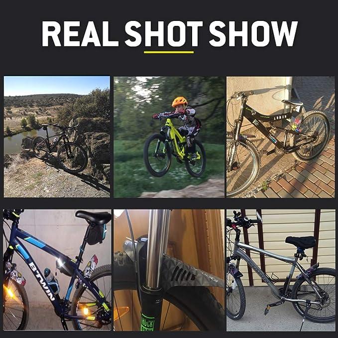 MASO Guardabarros para Bicicleta, Bicicleta de montaña, Plegable ...