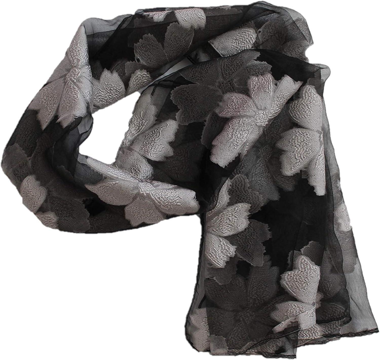 Scarf Silk Like Scarf -...
