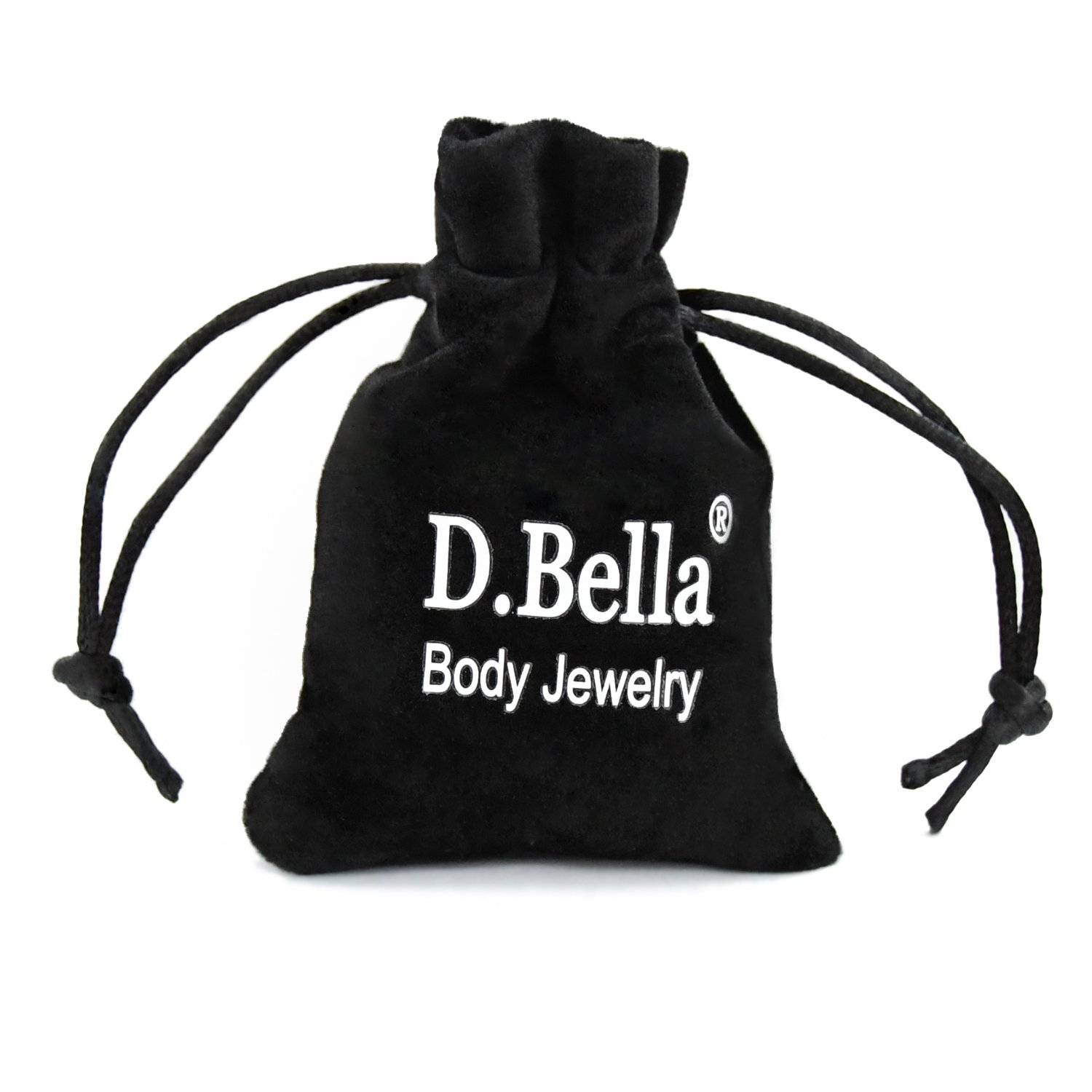 D.Bella 2pcs PA Ring 316L Surgical Steel Spring Action Captive Bead Ring CBR 2G 4G 6G 8G 10G 12G 12mm 16mm Piercing Body Jewelry