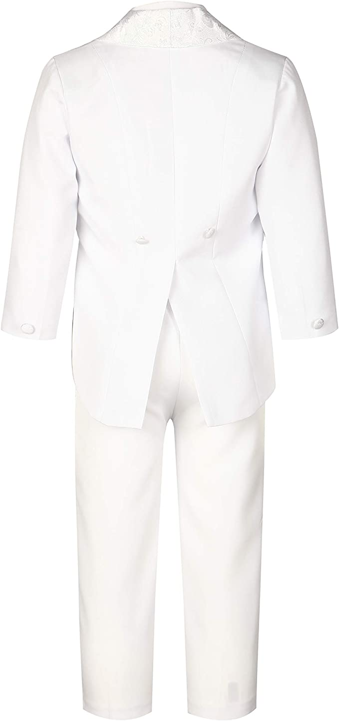 GSCH 5pcs Niños bebés Caballero Boda Trajes Chaqueta + Pantalon + ...
