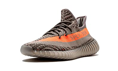e53c23446e Image Unavailable. Image not available for. Color: adidas Mens Yeezy Boost  350 V2 Beluga Grey/Beluga-Solar Red ...