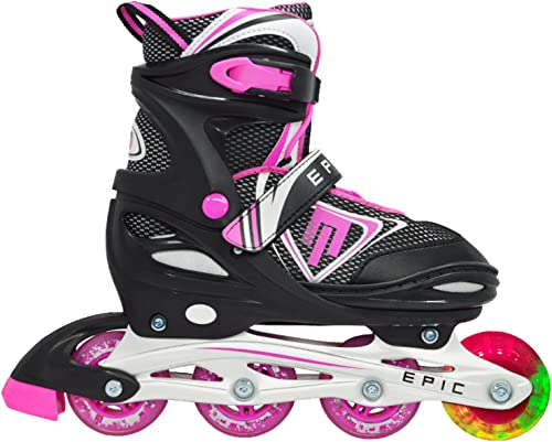 Epic Skates Fury Adjustable Inline Skates