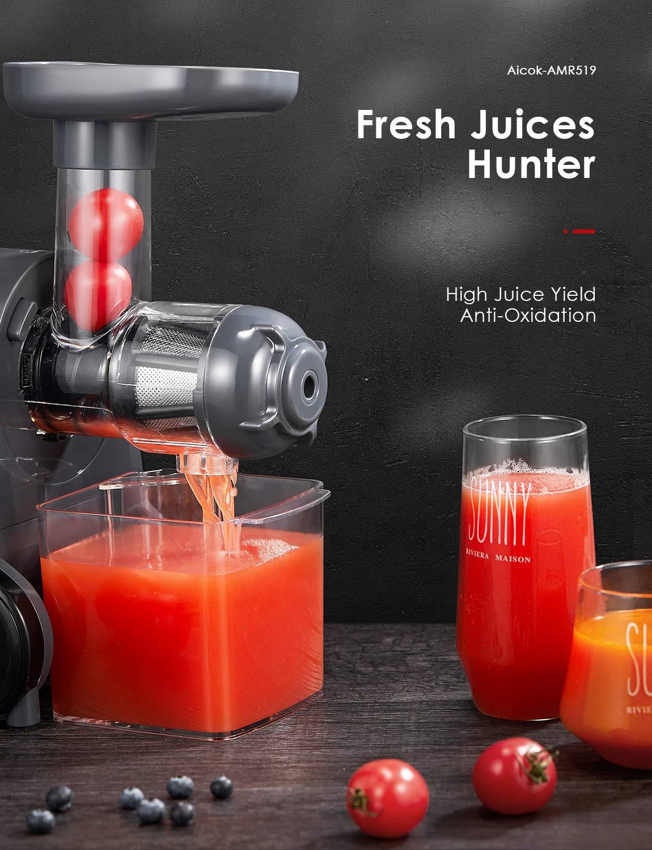 Amazon.com: JUICER Machine, Slow Masticating Juicer: Kitchen ...
