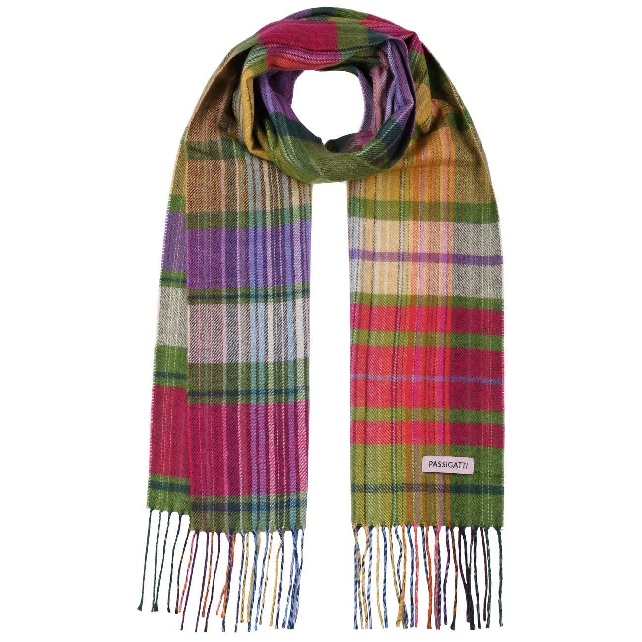 85415dbfbfe455 Passigatti Colourchecks Damenschal Schal Winterschal Strickschal (One Size  - bunt): Amazon.de: Bekleidung