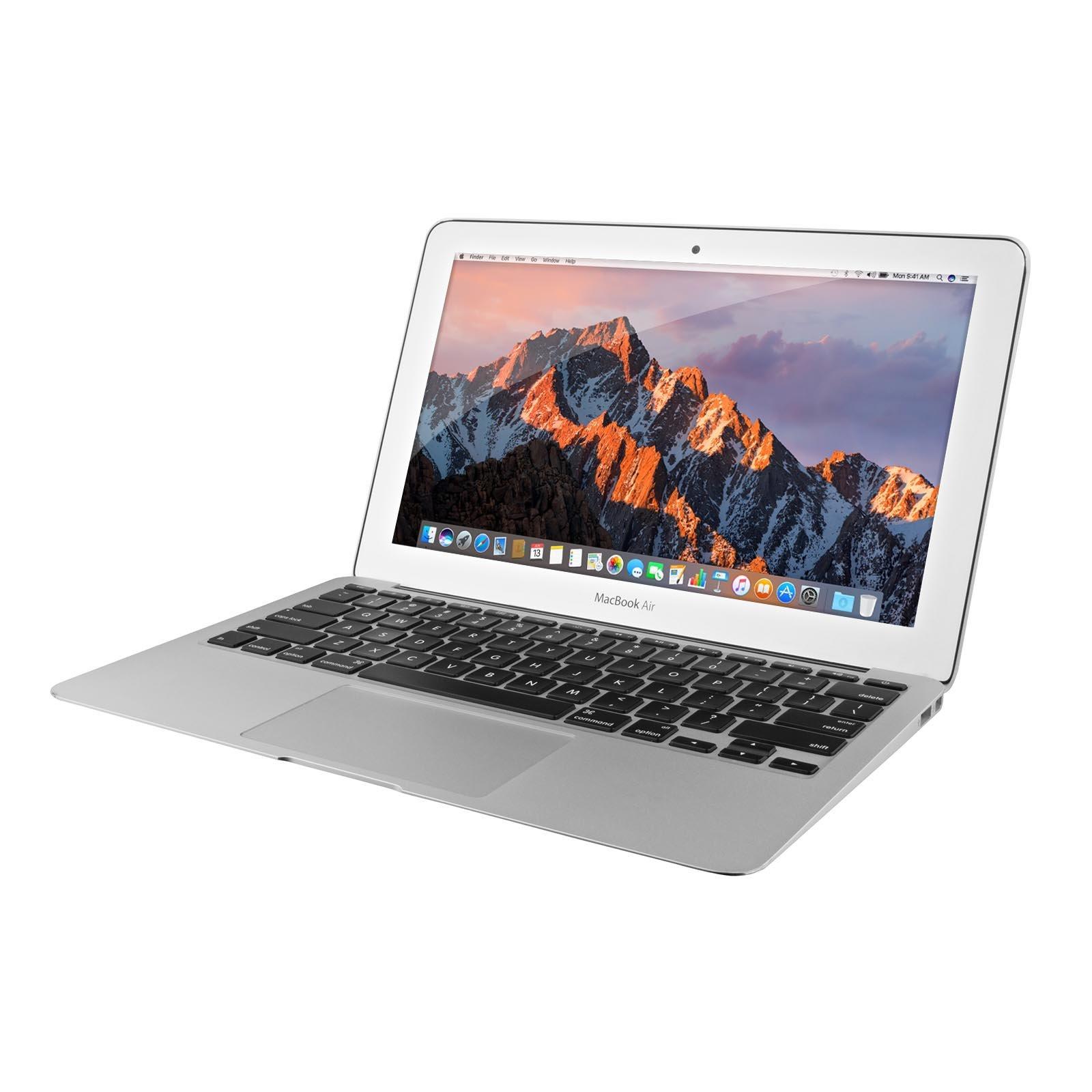 Apple MacBook Air MJVM2LL/A 11.6-Inch laptop(1.6 GHz Intel i5, 128 GB SSD, Integrated Intel HD Graphics 6000, Mac OS X Yosemite (Renewed) by Apple