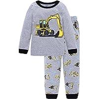 Little Hand - Pijamas Dos Piezas Pijama para niños de Excavador 2-7 años