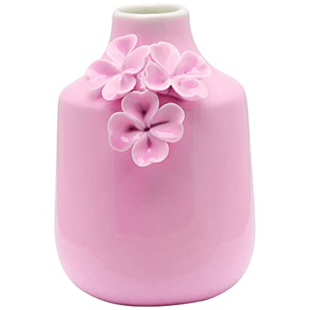 Greengate Vase Flowers Pale Pink Small Amazon Kitchen Home