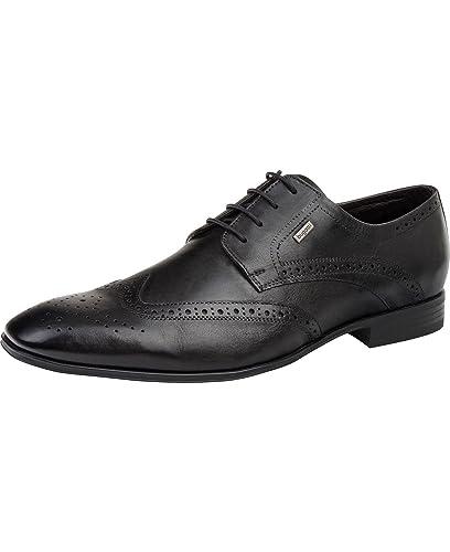 Bugatti Business-Herrenschuhe Schwarz, Schuhgröße EUR 48 64026247df