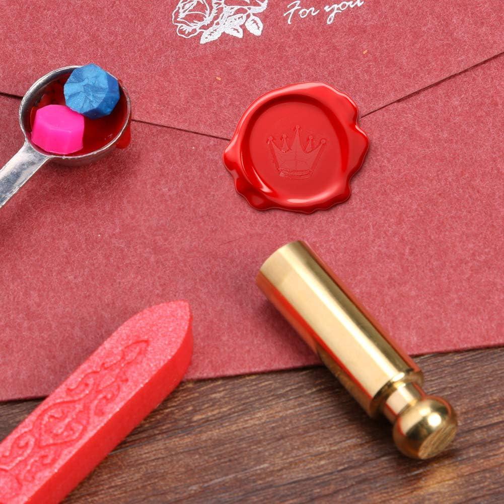 Retro Wax Seal Stamp Sealing Wax DIY Wedding Invitation Decor Gift 1 12mm