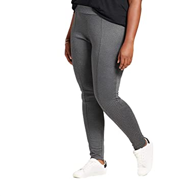 afea28a4afa78 Ava   Viv Women s Plus Size Pull On Ponte Pants - Gray Herringbone - (4X