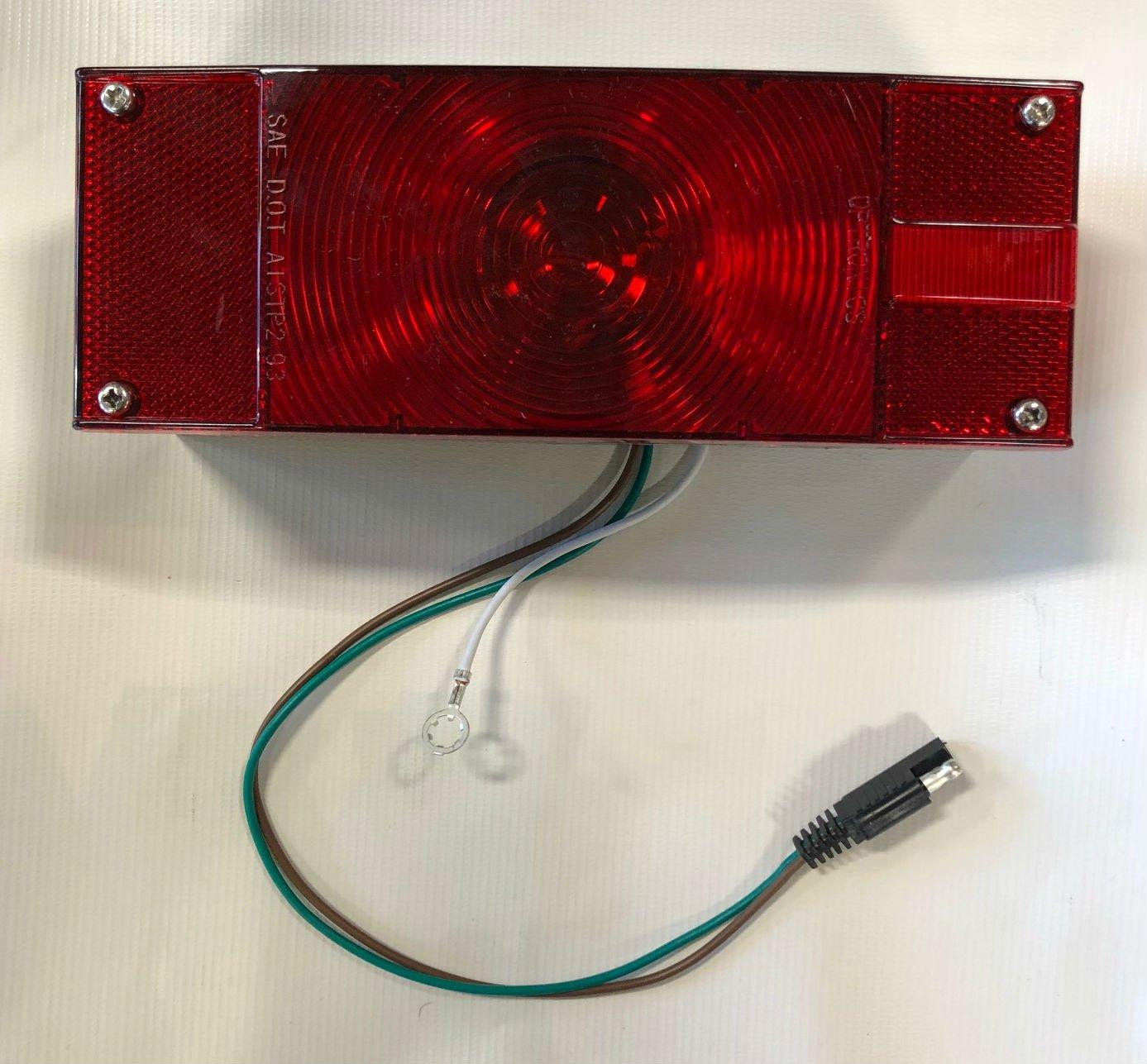 Triton 06304 Enclosed Rectangle Right Tail Light