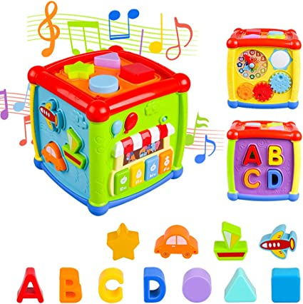 Educational Learning Baby Toys  Months Age with Musical Sound Xmas Toddler Gift