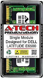 A-Tech 2GB RAM for DELL Latitude E6500 | DDR2 800MHz SODIMM PC2-6400 200-Pin Non-ECC Memory Upgrade Module