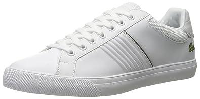 9317dedcb7d0cd Lacoste Men s Fairlead 117 1 Casual Shoe Fashion Sneaker White 11.5 ...
